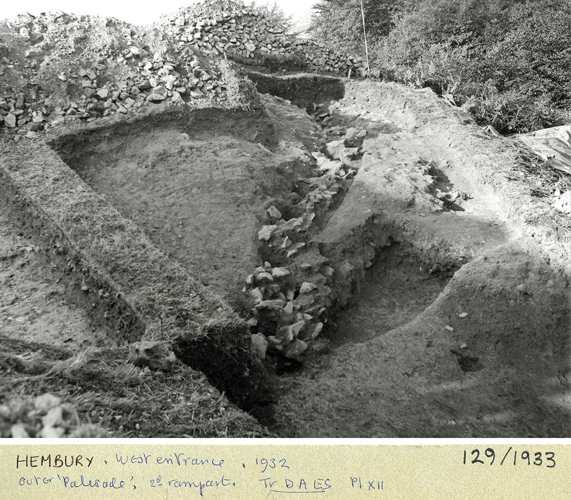West Entrance, Hembury Fort 1932
