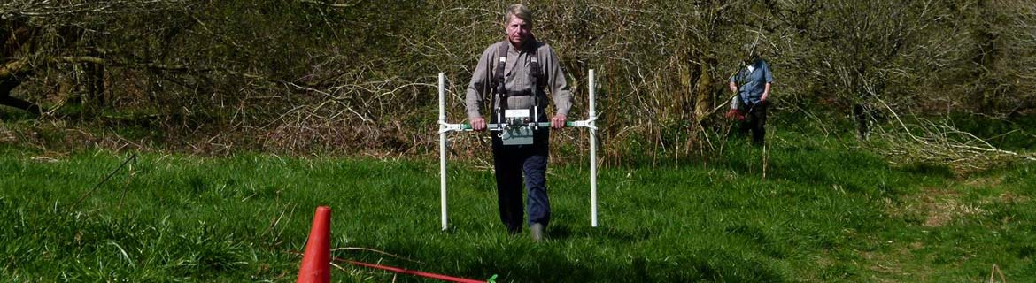 Devon Archaeological Society, led by Dr Eileen Wilkes of Bournemouth University, undertook trial geophysical survey.